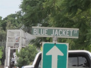 Blue Jacket Street (Francistown, Botswana)